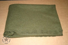 US ARMY BLANKET BED WOLL